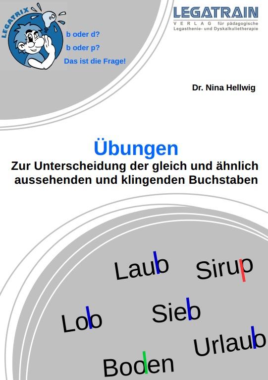 Arbeitsblätter zur Unterscheidung von b-d und b-p – Legatrain Verlag ...